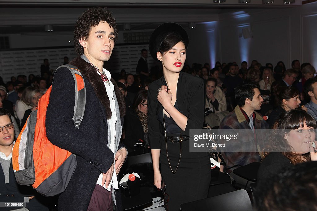 Robert Sheehan attends the Collabor8te Connected by NOKIA Premiere at Regent Street Cinema on February 12, 2013 in London, England.