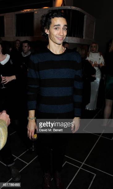 Robert Sheehan attends The Old Vic's 24 Hour Celebrity Gala after party at Rosewood London on November 24 2013 in London United Kingdom