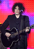 Robert Smith of 'The Cure' at the Zenith in Paris France