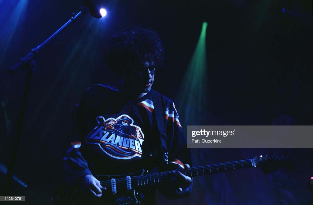 Robert Smith of The Cure during The Cure in Concert at Nassau Coliseum - 1996 at Nassau Veterens Memorial Coliseum in Uniondale, New York, United States.