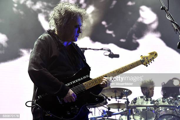 Robert Smith of The Cure performs during the Sasquatch Music Festival at Gorge Amphitheatre on May 29 2016 in George Washington