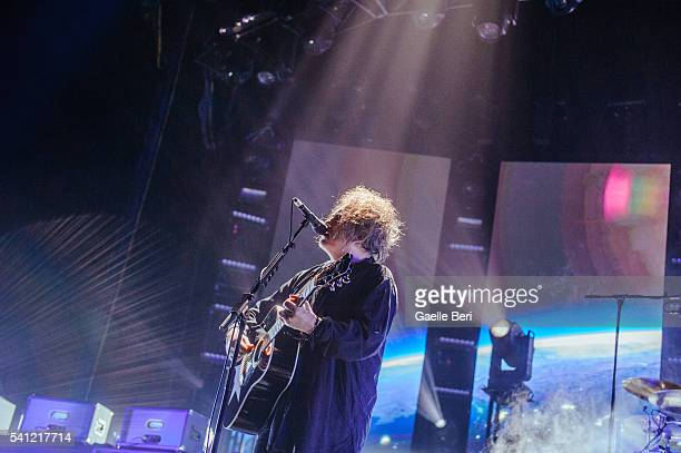 Robert Smith of The Cure performs live at Centre Bell on June 14 2016 in Montreal Canada