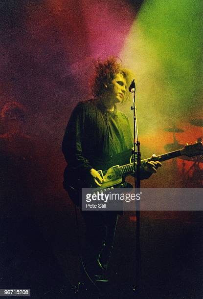 Robert Smith of The Cure performs on stage at Wembley Arena on July 23rd 1989 in London United Kingdom