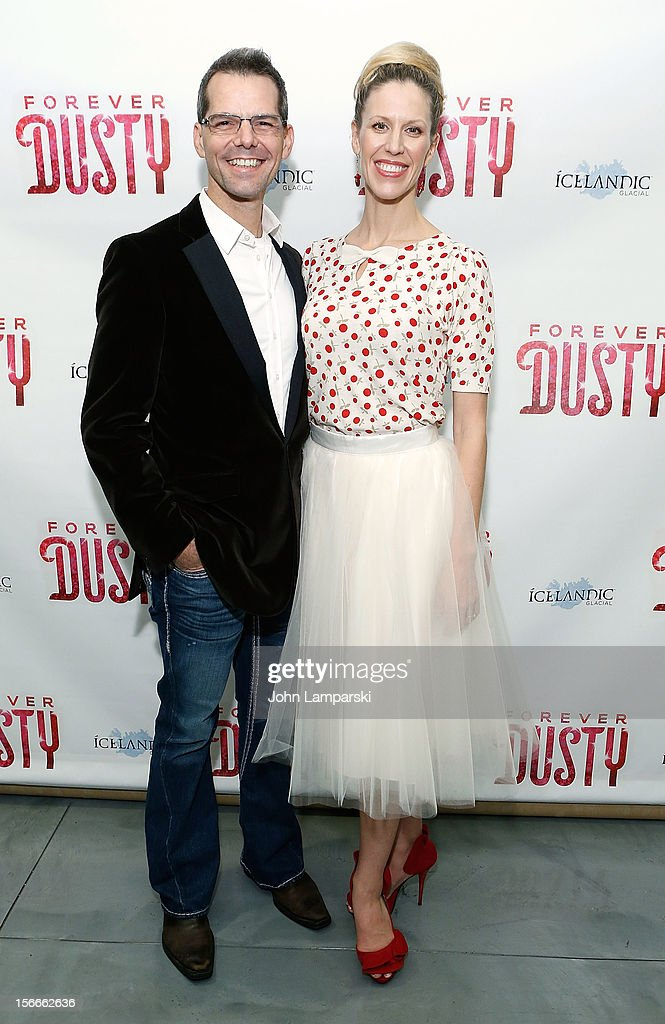 J. Robert Spancer and jenny Lynn Spencer attend the 'Forever Dusty' Opening Night>> at New World Stages on November 18, 2012 in New York City.