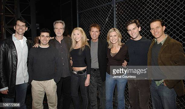 J Robert Spencer John Lloyd Young Bob Gaudio Chloe Lattanzi Cliff Richard Olivia Newton John Daniel Reickard and Christian Hoff
