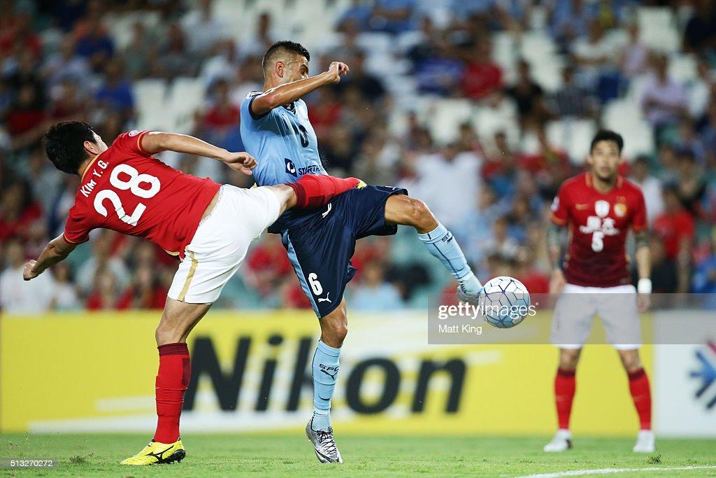 AFC Champions League - Sydney FC v Guangzhou Evergrande FC