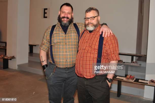 Robert Tagliapietra and Jeffrey Costello attend COSTELLO TAGLIAPIETRA Fall 2010 Collection at Milk Studios on February 12 2010 in New York City