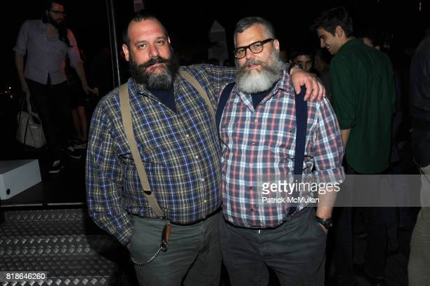 Robert Tagliapietra and Jeffrey Costello attend MELISSA Plastic Dreams Rooftop Party at MILK Penthouse on June 8 2010 in New York City