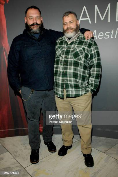 Robert Tagliapietra and Jeffrey Costello attend The Museum at FIT's American Beauty Opening at The Museum at FIT on November 5 2009 in New York