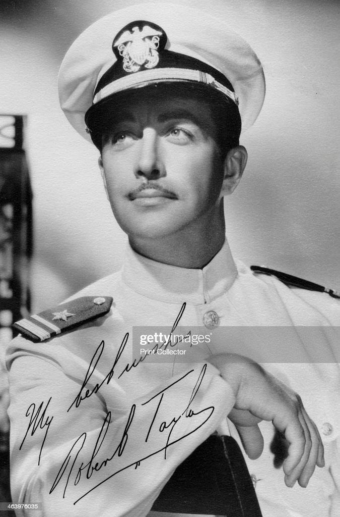Robert Taylor (1911-1969), American actor, c1940s. - robert-taylor-american-actor-c1940s-picture-id463976035