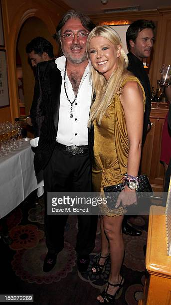 Robert Tchenguiz and Tara Reid attends Ben Caring's birthday party at Annabel's on October 2 2012 in London England