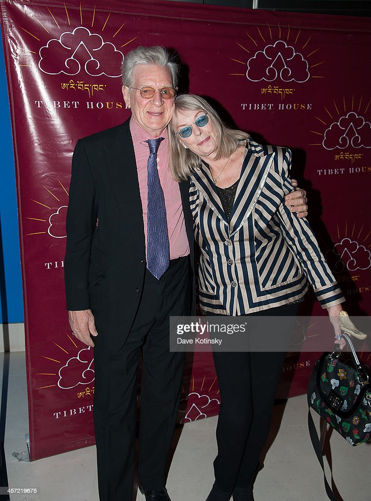 <a gi-track='captionPersonalityLinkClicked' href=/galleries/search?phrase=Robert+Thurman+-+Buddhist+Writer&family=editorial&specificpeople=15404386 ng-click='$event.stopPropagation()'>Robert Thurman</a> and Nena Thurman attends the 11th annual Tibet House US Benefit Auction> at Christie's Auction House on December 16, 2013 in New York City.