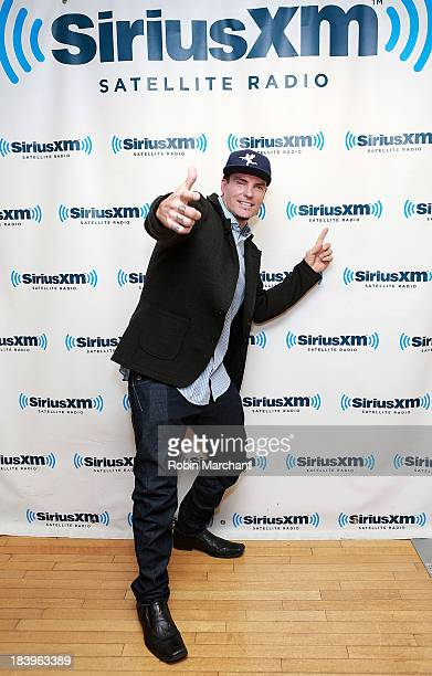 Robert 'Vanilla Ice' Van Winkle visits SiriusXM Studios on October 10 2013 in New York City