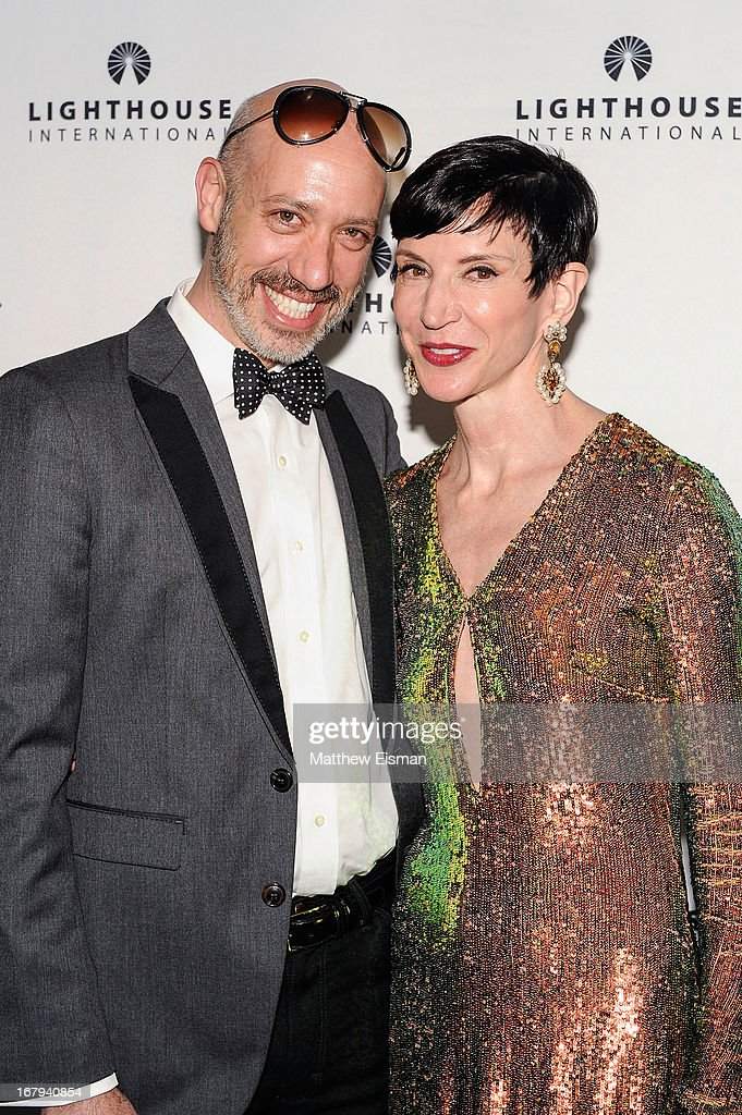 Robert Verdi (L) and Amy Fine Collins attend the 5th Annual 'A Posh Affair' Gala at 583 Park Avenue on May 2, 2013 in New York City.