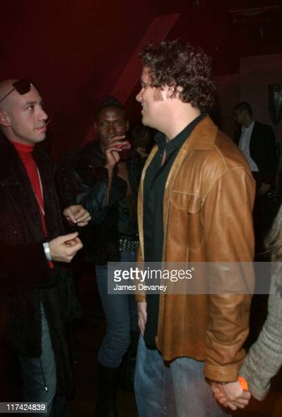 Robert Verdi and Bachelor Bob Guiney during 'Queer Eye for the Straight Guy' Record Release Party Inside at Avalon in New York City New York United...