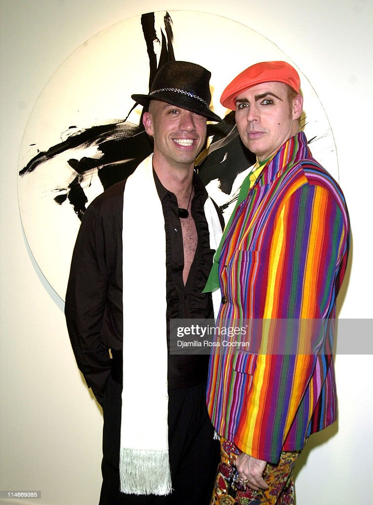 Robert Verdi and Patrick McDonald during Marc Shaiman and Scott Wittman Host a Gala for LIVE OUT LOUD at Chelsea Art Museum in New York City, New York, United States.