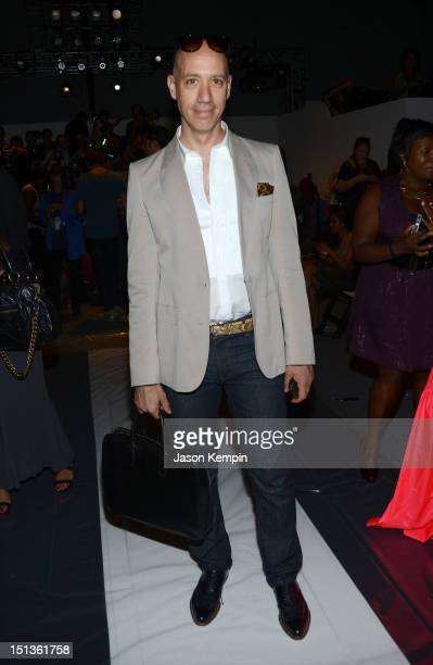 Robert Verdi attends the Chadwick Bell Spring 2013 fashion show during MercedesBenz Fashion Week at The Studio at Lincoln Center on September 6 2012...