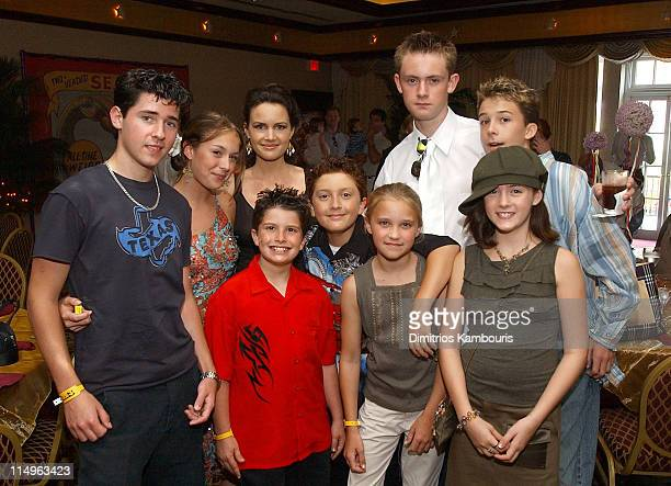 Robert Vito Alexa Vega Carla Gugino Evan Sabara Daryl Sabara Emily Osment Matt O'Leary Courtney Jines and Bobby Edner