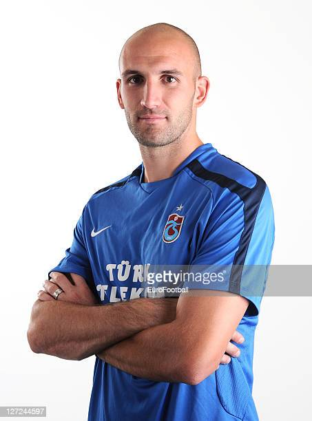 Robert Vittek of Trabzonspor AS poses during a portrait session on June 24 2011 in TrabzonTurkey