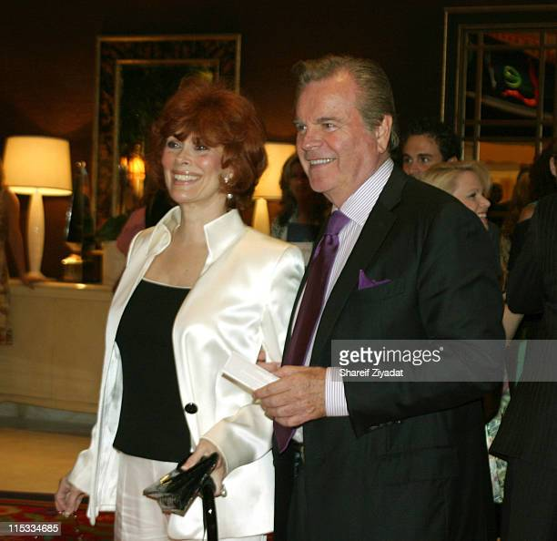 Robert Wagner and Jill during Wynn Hotel Grand Opening April 28 2005 at Wynn Hotel in Las Vegas Nevada United States