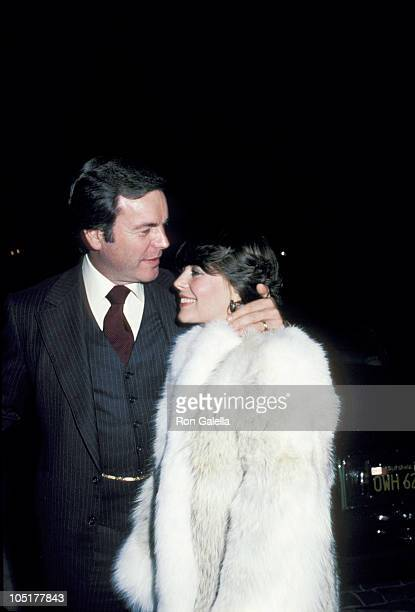 Robert Wagner and Natalie Wood during Dining at Jimmy's Restaurant at Jimmy's Restaurant in Beverly Hills California United States