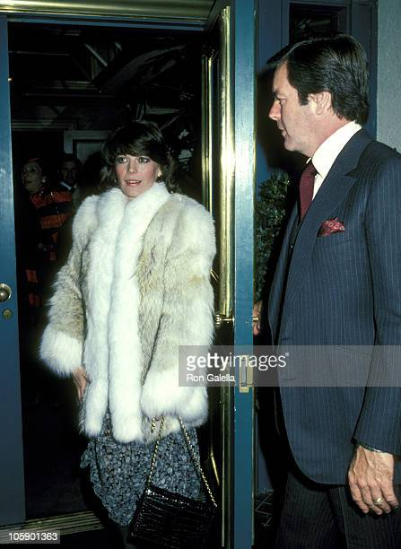 Robert Wagner and Natalie Wood during Gregory Peck and Robert Wagner Sighting at Jimmy's Restaurant January 2 1981 at Jimmy's Restaurant in Beverly...