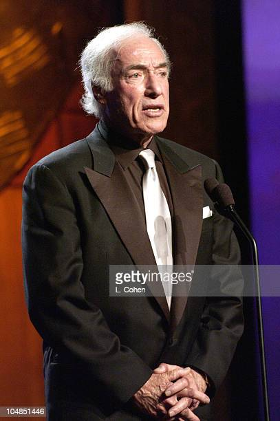 Robert Wagner presents the 'David Susskind Lifetime Achievement Award in Television' to Bud Yorkin