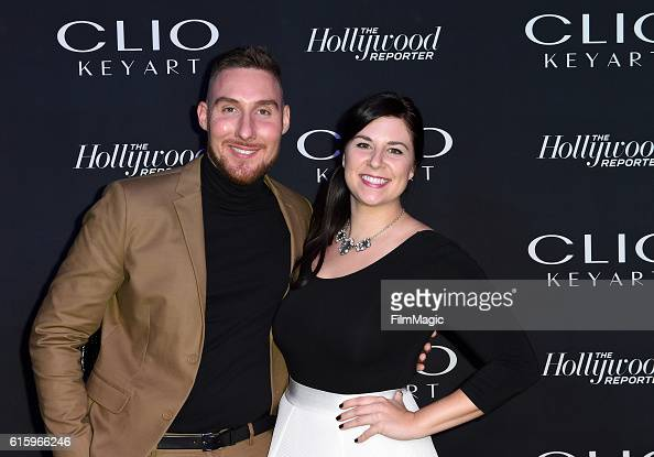 Robert Warner and Director Business Development Sales at Brave Dog Ashley Tolusic attends the CLIO Key Art Awards 2016 at Dolby Theatre on October 20...