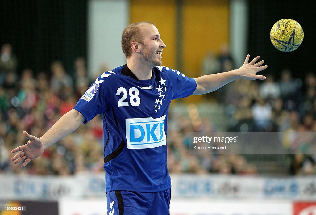 Robert Weber of Bundesliga All Stars during the match between Germany and Bundesliga All Stars on February 2, 2013 in Leipzig, Germany.