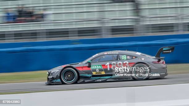 Robert Wickens of MercedesAMG DTM Team HWA during the DTM free practice session 3 at the Hockenheimring on Day 2 of the DTM German Touring Car...