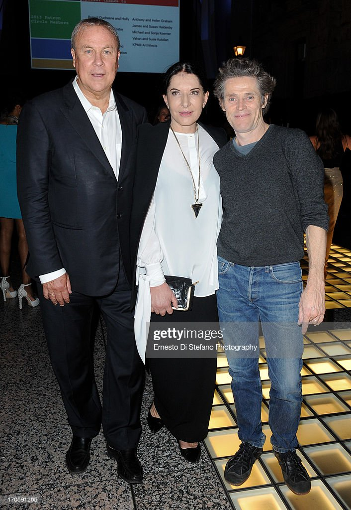 Robert Wilson, <a gi-track='captionPersonalityLinkClicked' href=/galleries/search?phrase=Marina+Abramovic&family=editorial&specificpeople=2315598 ng-click='$event.stopPropagation()'>Marina Abramovic</a> and <a gi-track='captionPersonalityLinkClicked' href=/galleries/search?phrase=Willem+Dafoe&family=editorial&specificpeople=203171 ng-click='$event.stopPropagation()'>Willem Dafoe</a> attend 'Luminato' Toronto Opening Night at Brookfield Place on June 14, 2013 in Toronto, Canada.