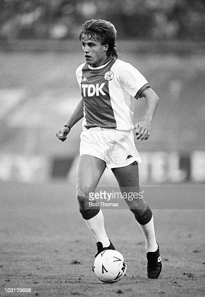 Robert Witschge of Ajax Amsterdam in action against FC Porto during the Amsterdam Tournament on 9th August 1987 The match ended in a 11 draw