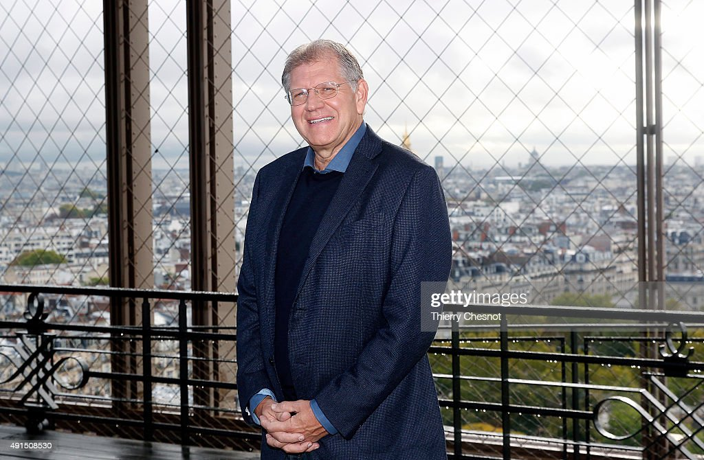 'The Walk : Rever Plus Haut : Paris Photocall At the Eiffel Tower