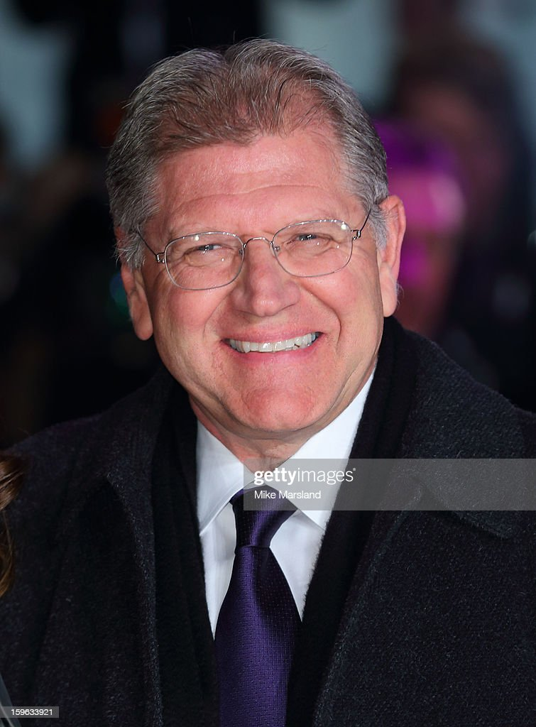 Robert Zemeckis attends the UK Premiere of 'Flight' at The Empire Cinema on January 17, 2013 in London, England.