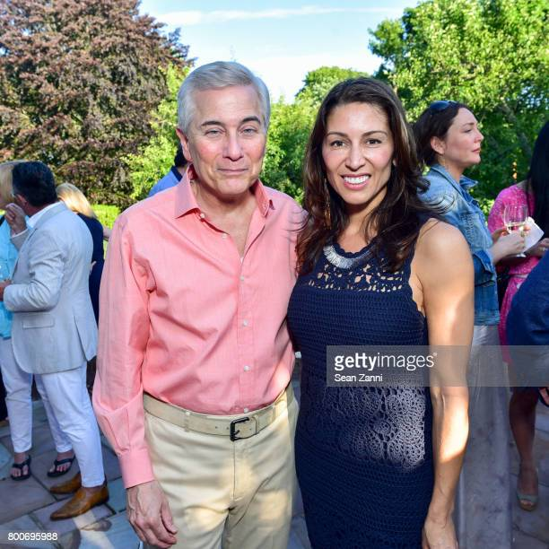 Robert Zimmerman and Shamin Abas attend Maison Gerard Presents Marino di Teana A Lifetime of Passion and Expression at Michael Bruno and Alexander...