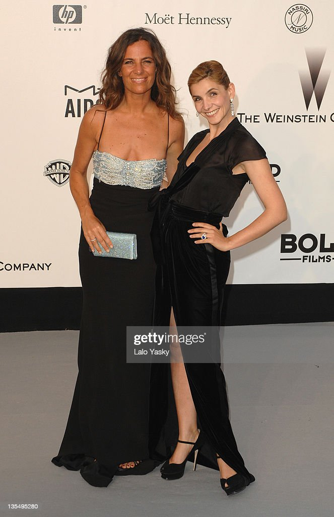 Roberta Armani and Clotilde Coreau at amfAR's Cinema Against AIDS event, presented by Bold Films, the M•A•C AIDS Fund and The Weinstein Company to benefit amfAR