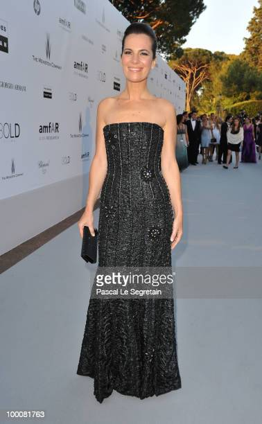 Roberta Armani arrives at amfAR's Cinema Against AIDS 2010 benefit gala at the Hotel du Cap on May 20 2010 in Antibes France