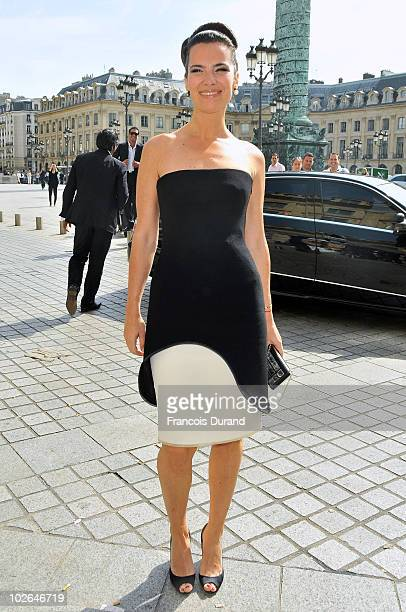 Roberta Armani arrives to attend the Giorgio Armani Prive show as part of the Paris Haute Couture Fashion Week Fall/Winter 2011 at Espace Vendome on...