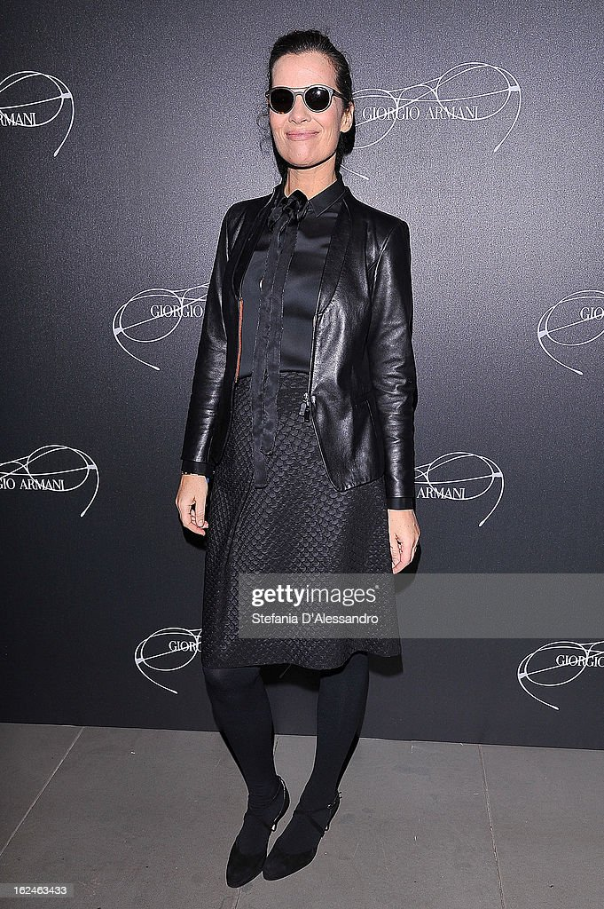Roberta Armani attends Giorgio Armani - Luxottica Event on February 23, 2013 in Milan, Italy.