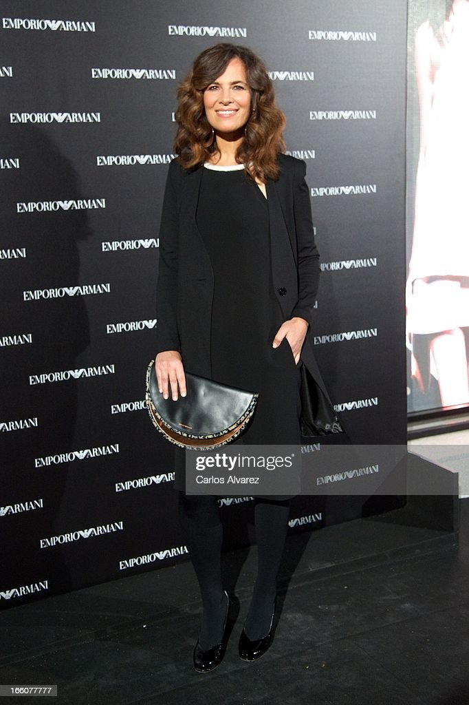 Roberta Armani attends the Emporio Armani Boutique opening on April 8, 2013 in Madrid, Spain.