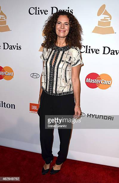 Roberta Armani attends the PreGRAMMY Gala and Salute To Industry Icons honoring Martin Bandier on February 7 2015 in Los Angeles California