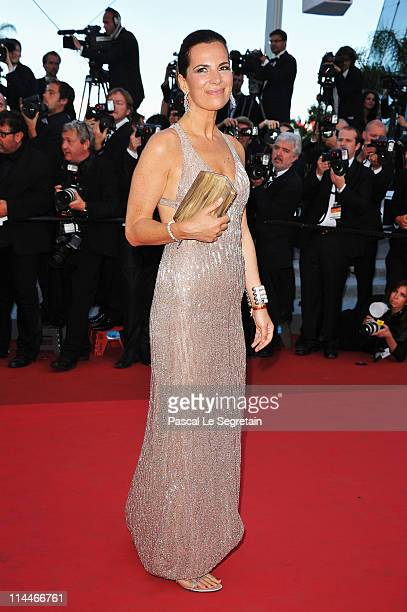 Roberta Armani attends the 'This Must Be The Place' premiere during the 64th Annual Cannes Film Festival at Palais des Festivals on May 20 2011 in...