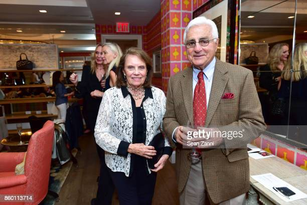 Roberta Claps and Gerard Claps attend the launch of The Collector Geneva's Sophie Bonvin Code Collection in Collaboration with artist Bill Claps at...
