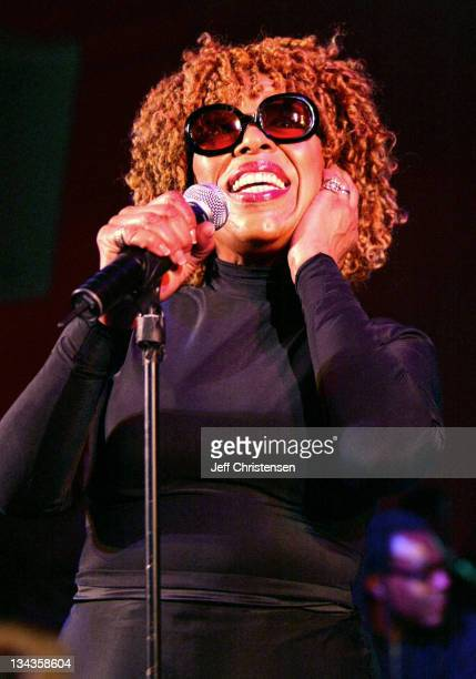 Roberta Flack during Wyclef Jean Holds Benefit Concert to Announce his Foundation Yele Haiti at Glo in New York City New York United States