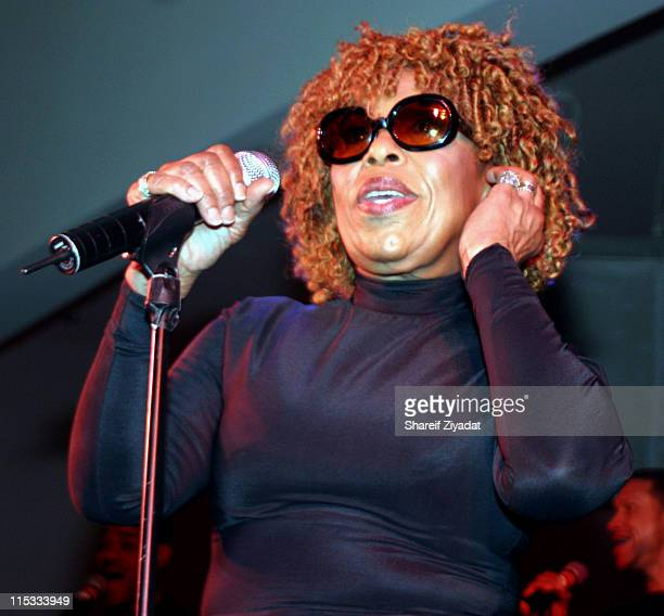 Roberta Flack during Wyclef Jean's Yele Haiti Fundraiser 2004 at Glo in New York City New York United States