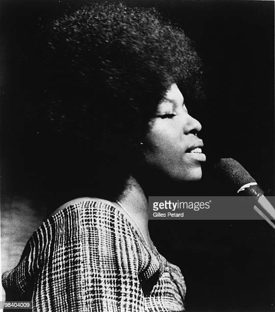 Roberta Flack performing in 1972 in the United States