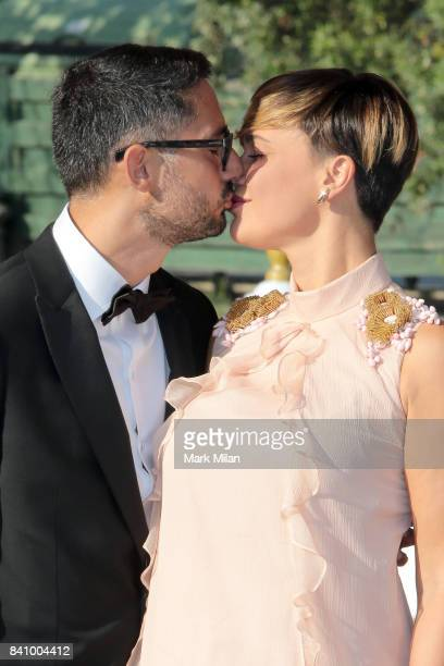 Roberta Giarrusso and Riccardo Pasquale are seen during the 74th Venice Film Festival on August 30 2017 in Venice Italy
