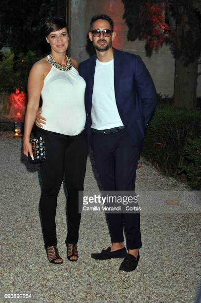 Roberta Giarrusso and Roberto Alessi attend Ciak D'Oro 2017 on June 8 2017 in Rome Italy