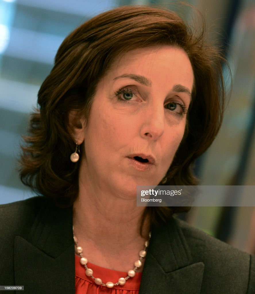 Roberta Jacobson, assistant U.S. secretary of state for western hemisphere affairs, speaks during an interview in New York, U.S., on Tuesday, Dec. 11, 2012. The relations between U.S. and Venezuela will improve in the next 12 months even if Hugo Chavez's supporters remain in power, Jacobson said. Photographer: Peter Foley/Bloomberg via Getty Images