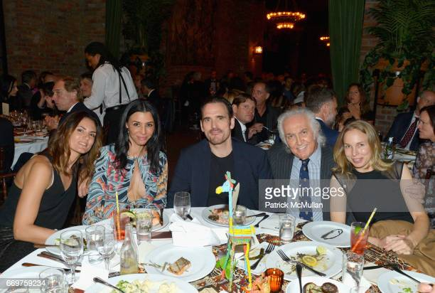 Roberta Mastromichele Drena De Niro Matt Dillon Tony Shafrazi and guest attend The Turtle Conservancy's 4th Annual Turtle Ball at The Bowery Hotel on...